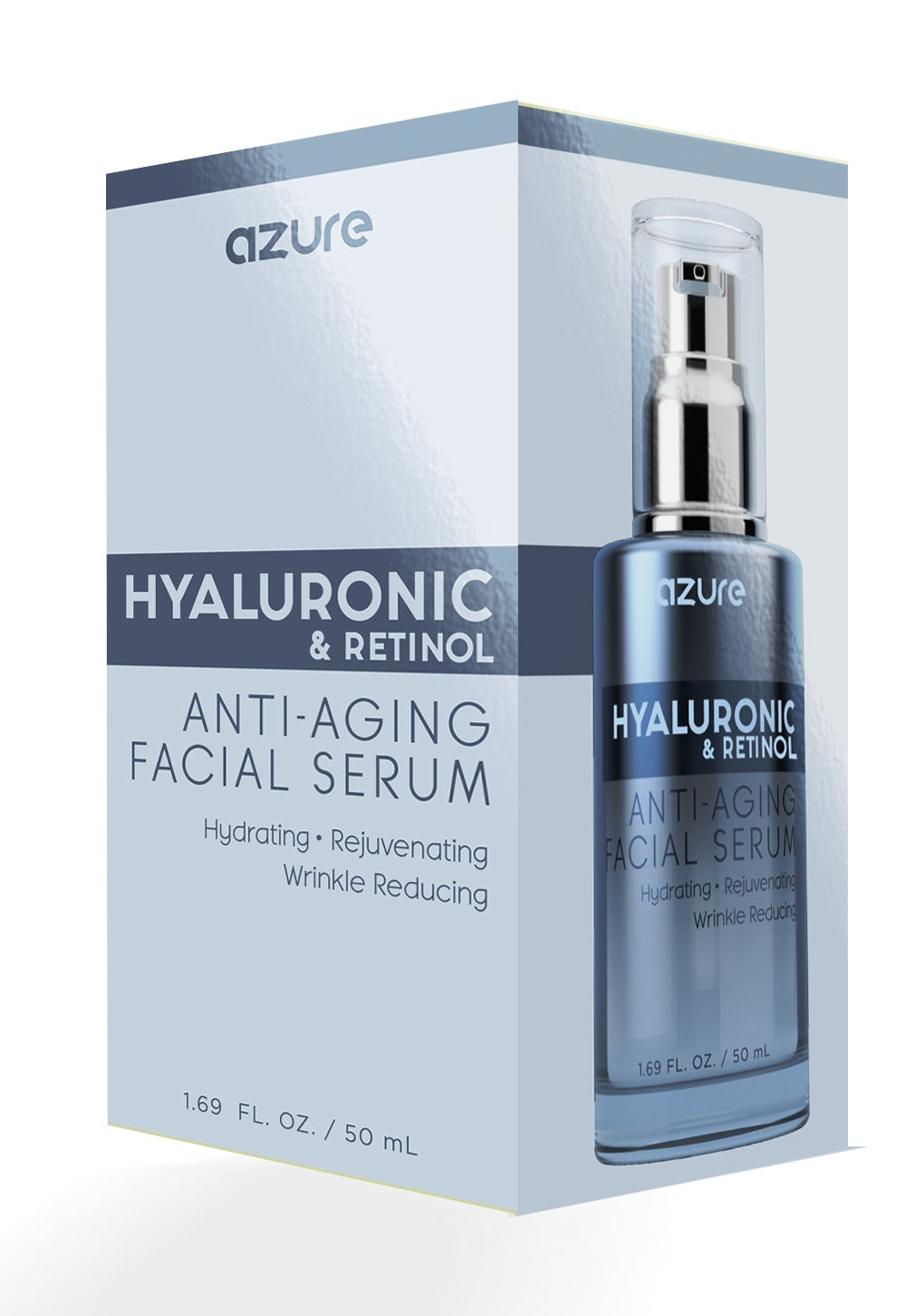 Hyaluronic and Retinol Anti-Aging Facial Serum