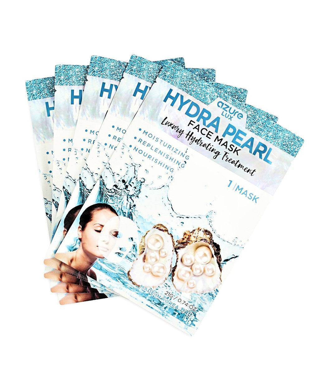 Hydra Pearl Face Mask: 5 Pack