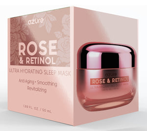 Rose and Retinol Ultra Hydrating Sleep Mask