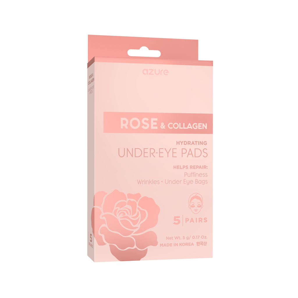 Rose and Collagen Hydrating Under Eye Pads