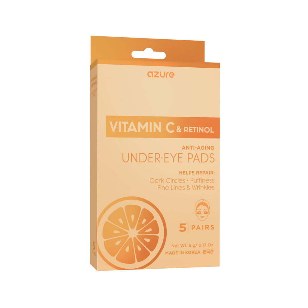 Vitamin C and Retinol Under Eye Pads