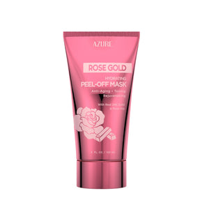 Rose Gold Hydrating Peel Off Mask W/ Real 24K Gold & Rose Hip