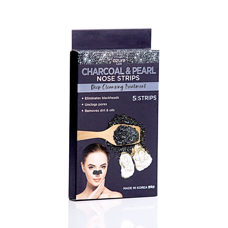 Charcoal & Pearl Deep Cleansing Nose Strips: 5 Pairs