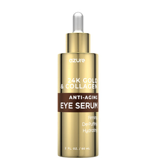 24K Gold and Collagen Anti-Aging Eye Serum - Collagen for Skin