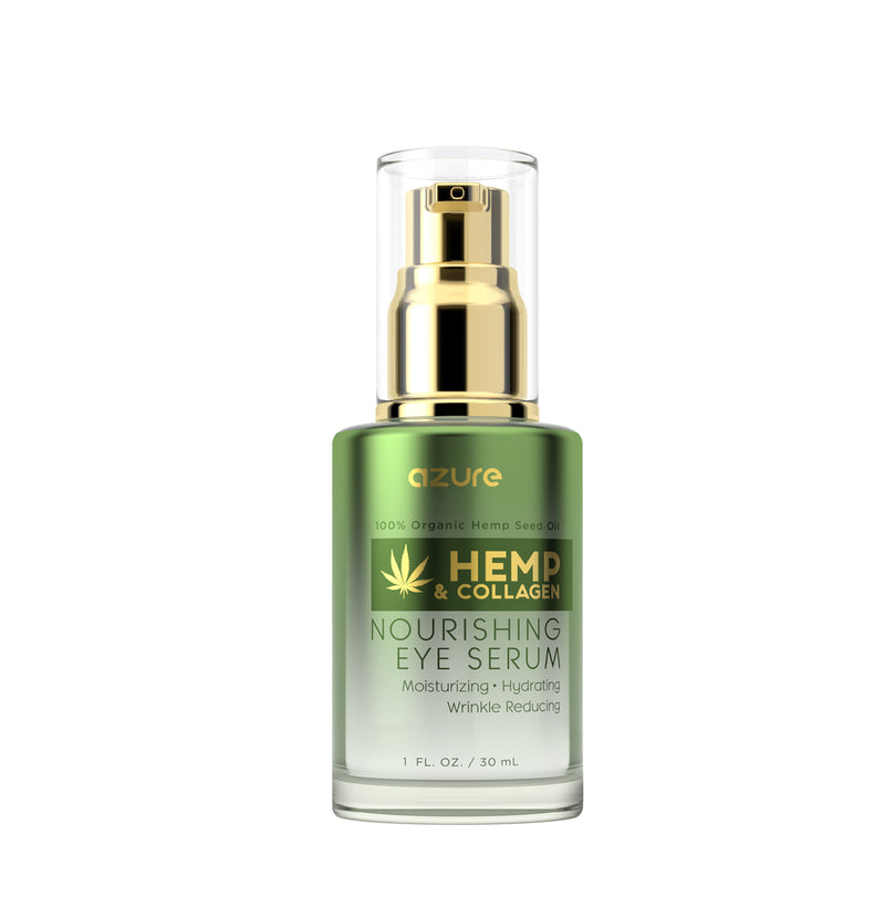 Hemp and Collagen Nourishing Eye Serum - Best Eye Serum
