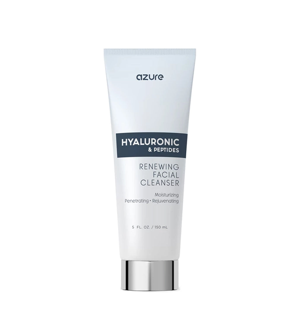 Hyaluronic Acid and Peptides Renewing Facial Cleanser