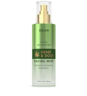 Hemp and Rose Nourishing Facial Mist