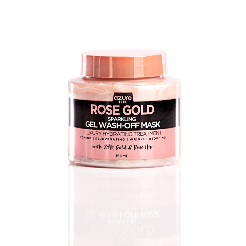 Rose Gold Hydrating Sparkling Gel Wash-off Mask