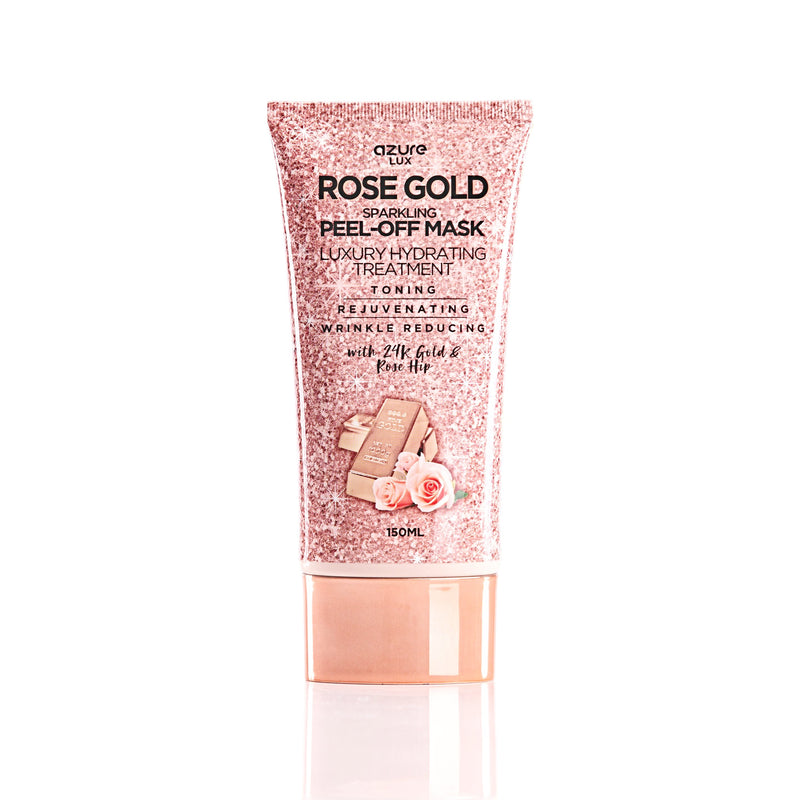 Rose Gold Hydrating Sparkling Peel Off Mask