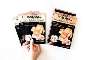 Skin Tightening Mask - Rose Gold Face Mask