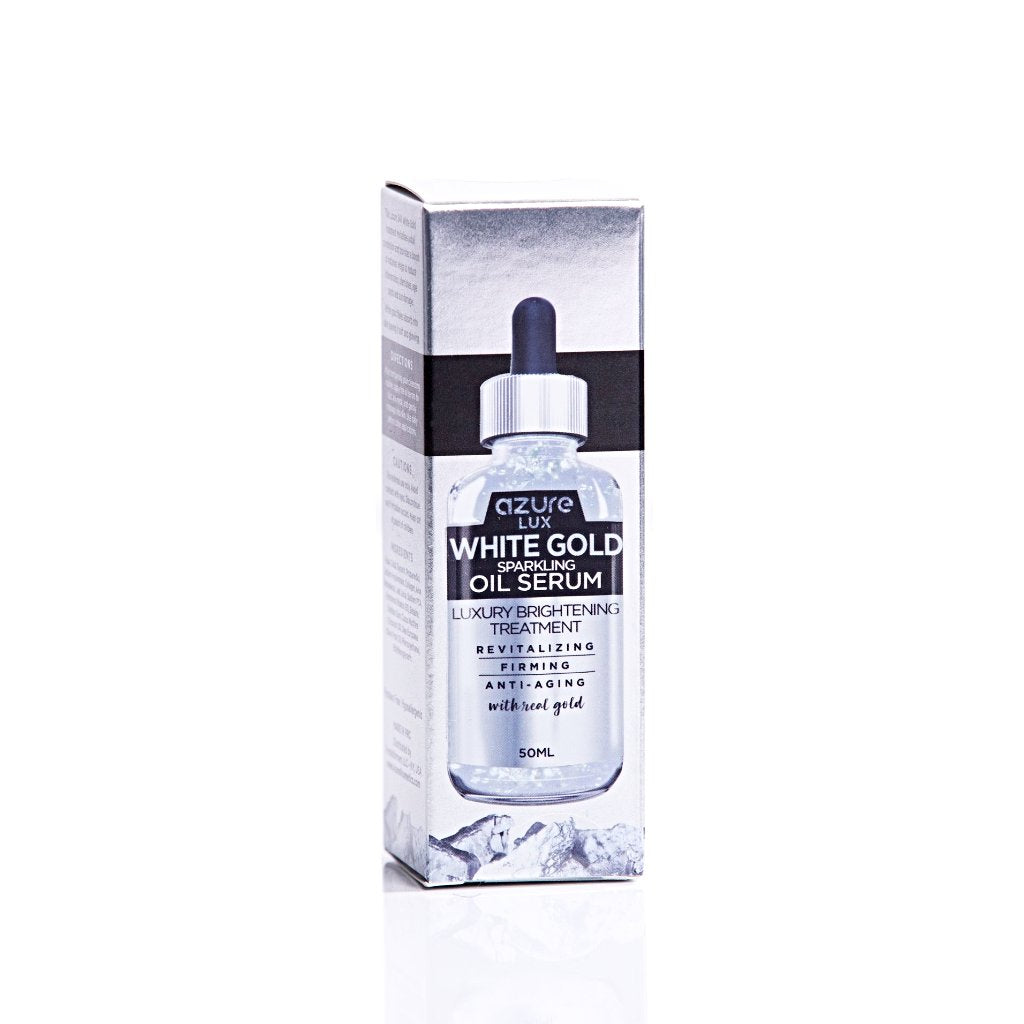 White Gold Oil Serum with Hyaluronic Acid