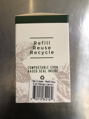 Mango Lemon Tea - Refill Box 6 Pack (72 cubes)
