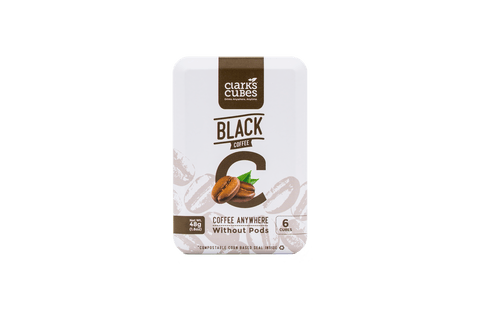 Black Coffee - Travel Tin 6 Pack (36 cubes)