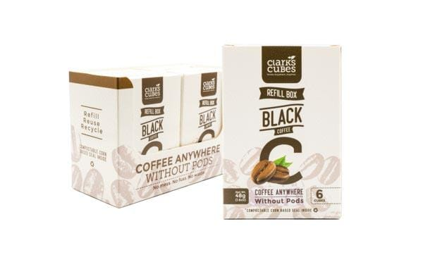 Black Coffee - Refill Box 6 Pack (36 cubes)