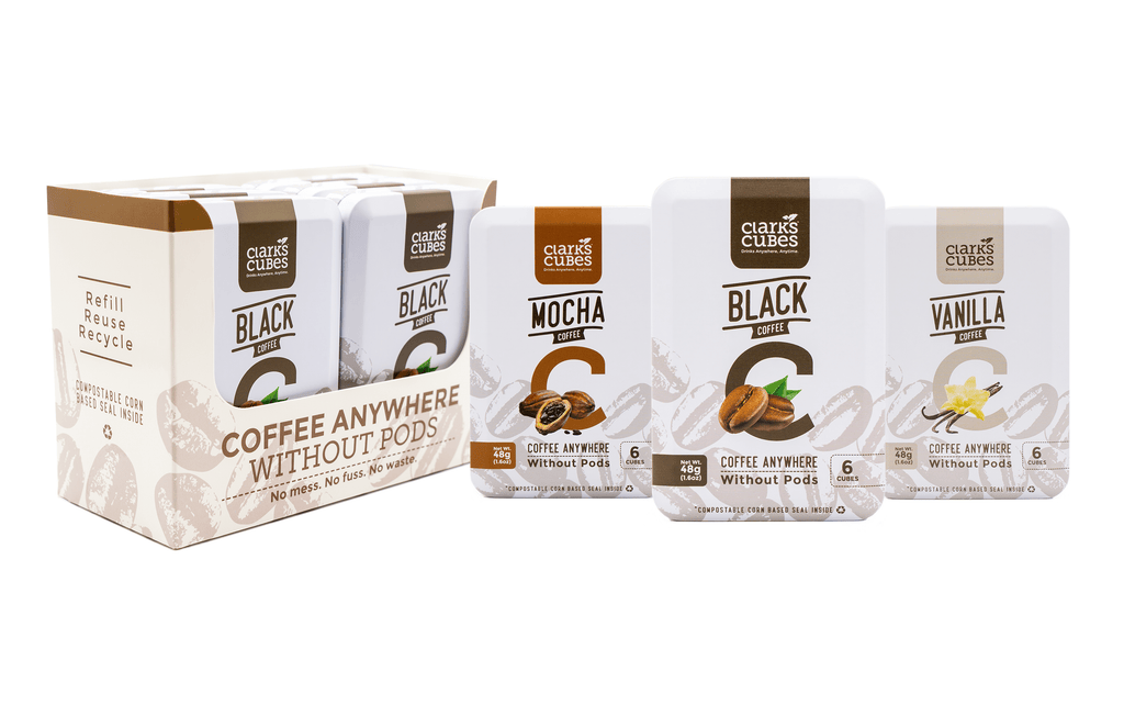 Variety Pack Travel Tin Cubed Coffee - 6 Pack (36 cubes)