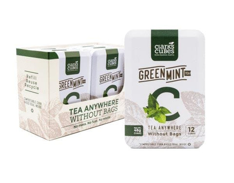 Green Mint Tea - Travel Tin 6 Pack (72 cubes)