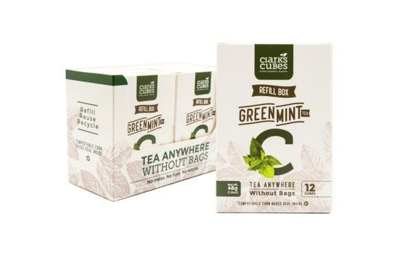 Green Mint Tea - Refill Box 6 Pack (72 cubes)
