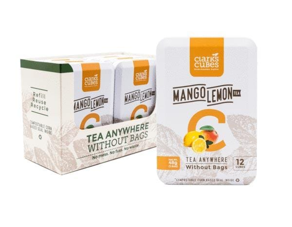 Mango Lemon Tea - Travel Tin 6 Pack (72 cubes)