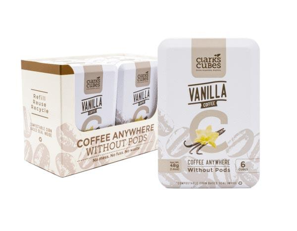 Vanilla Coffee - Travel Tin 6 Pack (36 cubes)