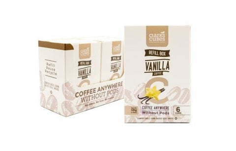 Vanilla Coffee - Refill Box 6 Pack (36 cubes)