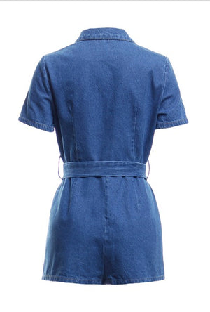 Febe Denim Romper