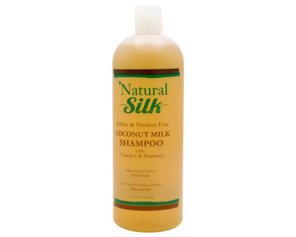 Natural Silk Coconut Milk Shampoo