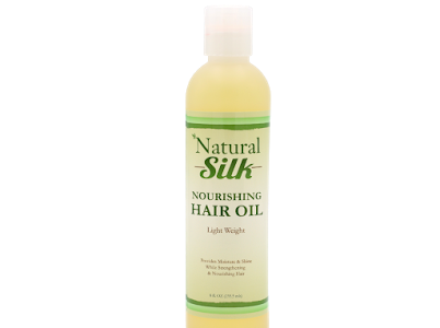 Natural Silk Nourishing Hair Oil