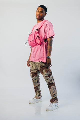 TECH BODY BAG (PINK)