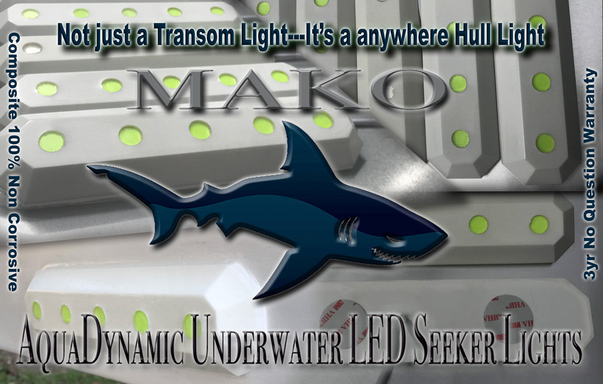Mako Underwater LED Boat Lights