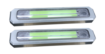 GREEN 22,000 Lumen Marine Underwater LED Transom Lights