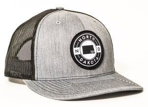 701 TRUCKER (HEATHER GREY/BLACK)