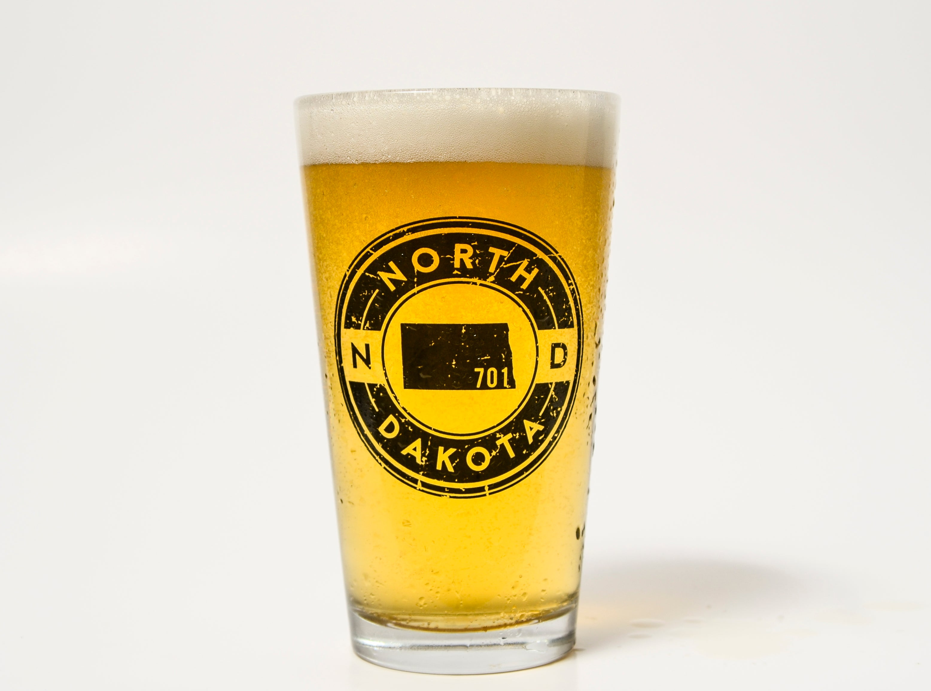 701 BADGE PINT GLASS