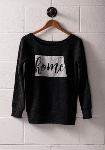 HOME ND WOMEN'S WIDE-NECK SWEATSHIRT