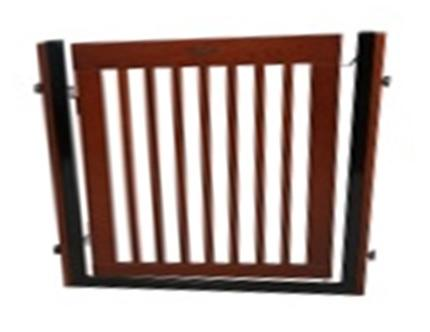 "Dynamic Accents Citadel 36"" Tall Pressure Mount Pet Gate"