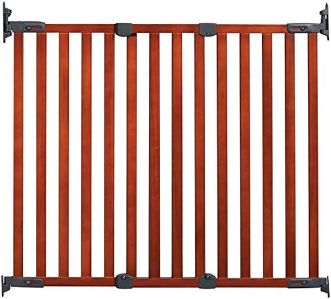 Kidco G2301 Angle Mount Wood Safeway Wall Mounted Pet Gate - PetGateCentral.com
