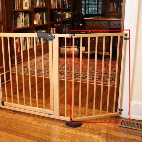 Cardinal Gates VG20-BK VersaGate Hardware Mounted Pet Gate Extension - PetGateCentral.com