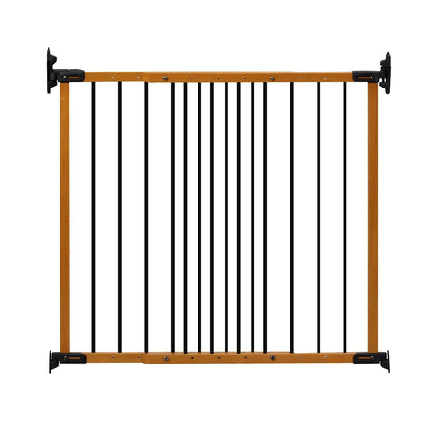 Kidco G2400 Designer Angle Mount Wall Mounted Safeway Pet Gate - PetGateCentral.com