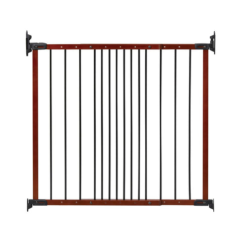 Kidco G2401 Designer Angle Mount Wall Mounted Safeway Pet Gate - PetGateCentral.com