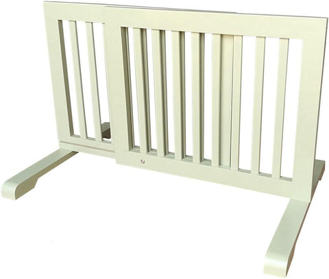 MDOG2 MK814-720LTGRN Free Standing Pet Gate - Light Green - PetGateCentral.com