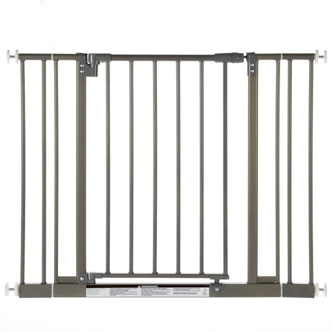 North States NS4915 Easy-Close Wall Mounted Steel Pet Gate - PetGateCentral.com