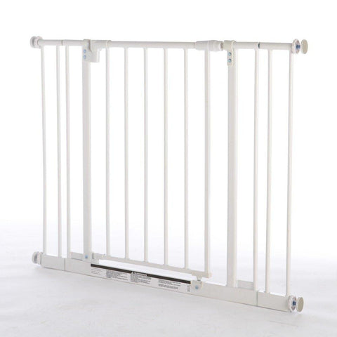 North States NS4991S Easy-Close Pressure Mounted Pet Gate - PetGateCentral.com