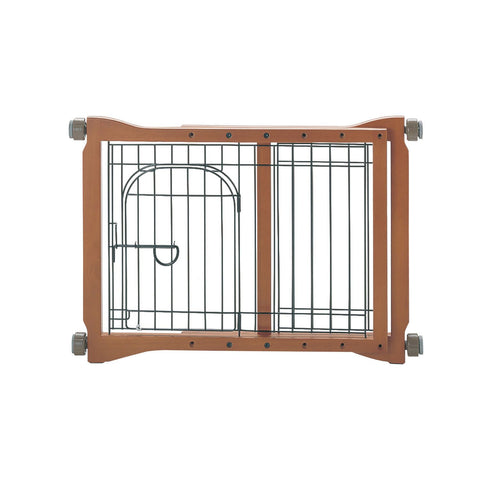 Richell R94111 The Pet Sitter Pressure Mounted Gate - PetGateCentral.com