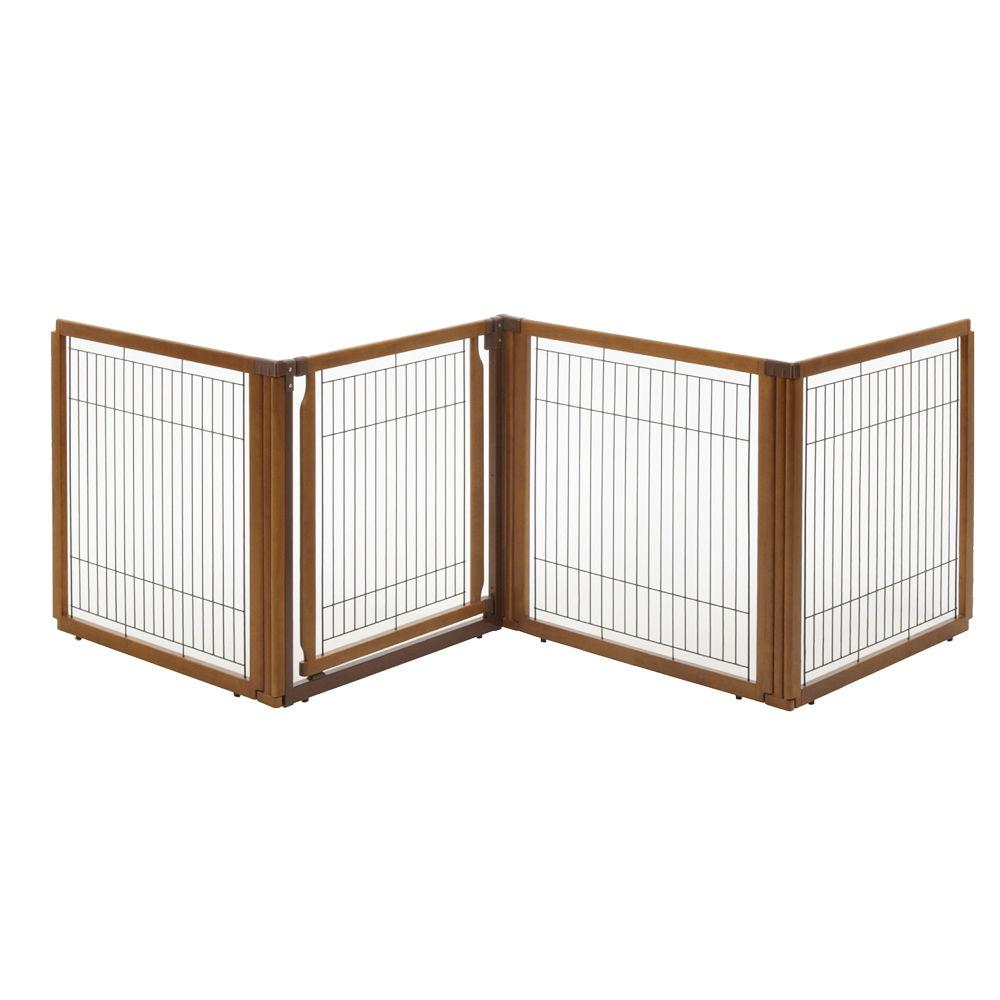 Richell R94170 Convertible Elite Pet Gate 4-panel