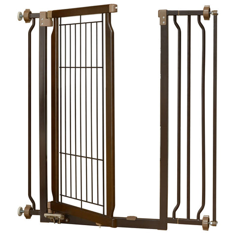 Richell R94903 Hands-Free Pressure Mounted Pet Gate - PetGateCentral.com