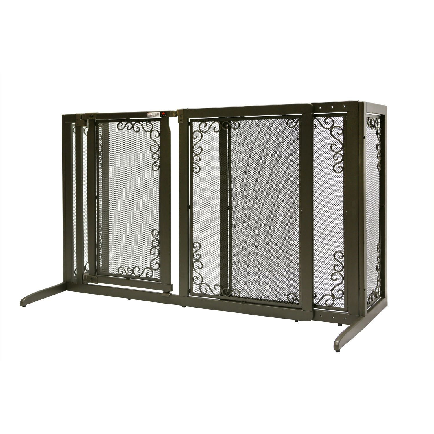 Richell R94912 Deluxe Freestanding Mesh Pet Gate