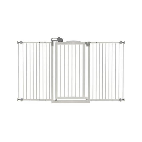 Richell R94935 Tall and Wide One-Touch Pressure Mounted Pet Gate - PetGateCentral.com
