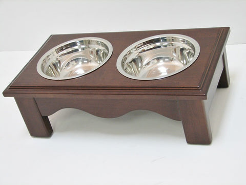 Crown Pet CPP-Diner-S-ESP Pet Diner Small Espresso Finish