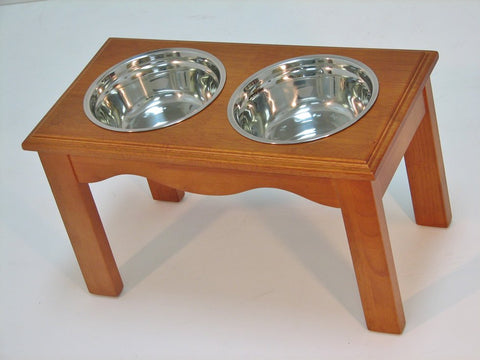Crown Pet CPP-Diner-L-CH Pet Diner Large Chestnut Finish