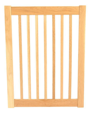 Dynamic Accents 1 Panel 32'' Outdoor Freestanding Pet Gate Extension - White Oak (52125) - PetGateCentral.com