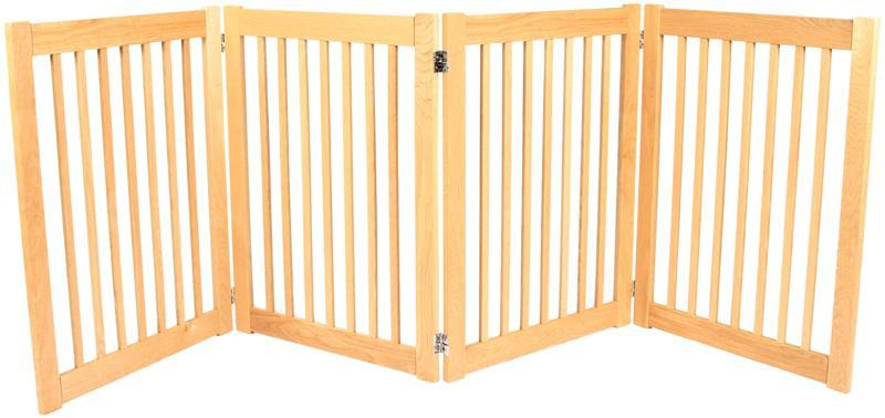 Dynamic Accents 4 Panel 32'' Outdoor Freestanding Pet Gat...